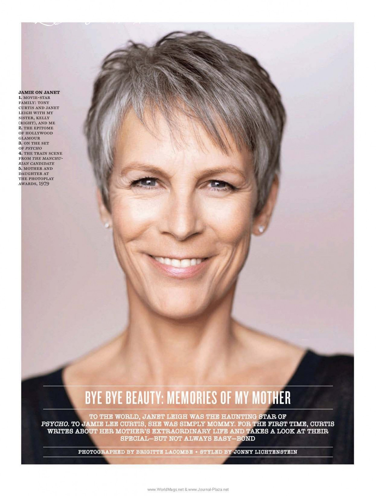 Pin on just for me jamie lee curtis short hairstyle