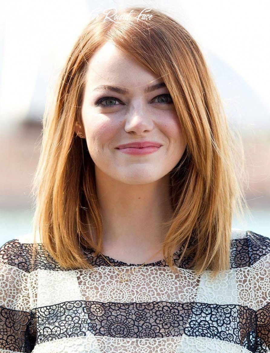 Pin on lifestyle medium hairstyle for round face