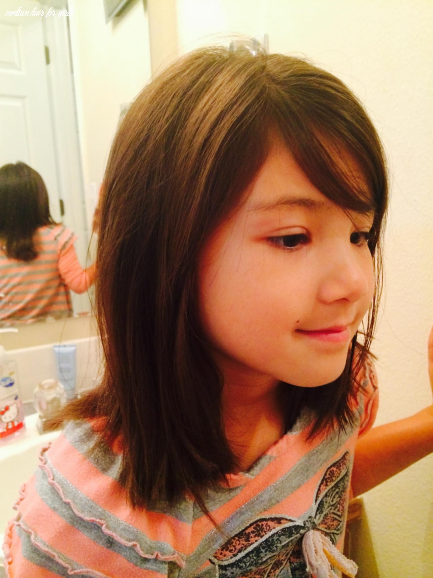 Pin on little hairstyles medium hair for girls
