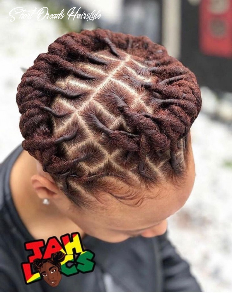 Pin on locs in color short dreads hairstyle