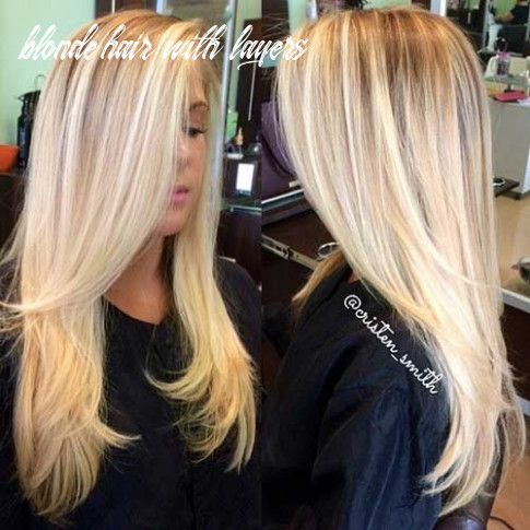 Pin on long hair blonde hair with layers