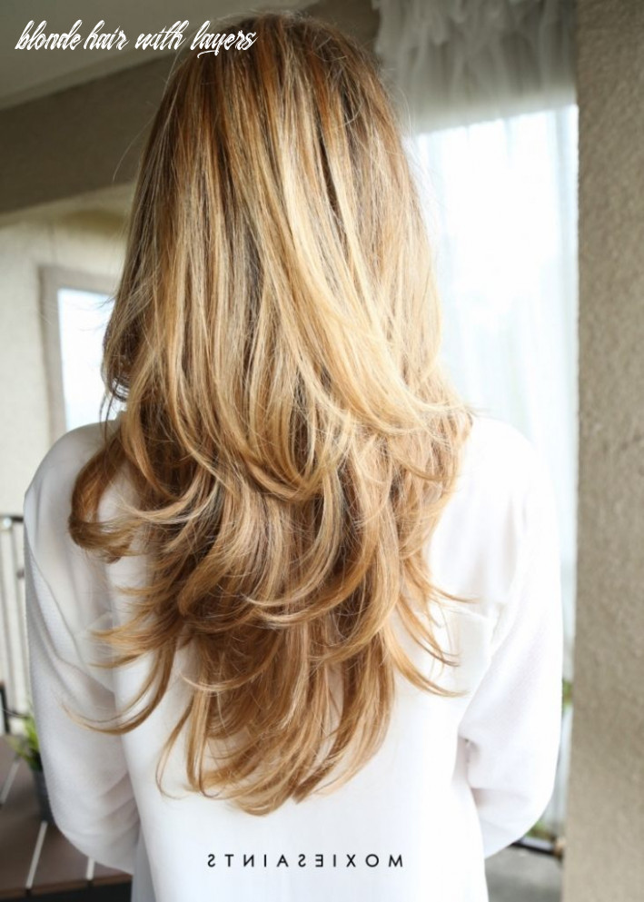 Pin on long layered haircuts blonde hair with layers