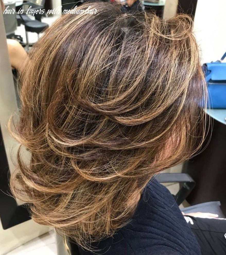 Pin on many many hair in layers with medium hair