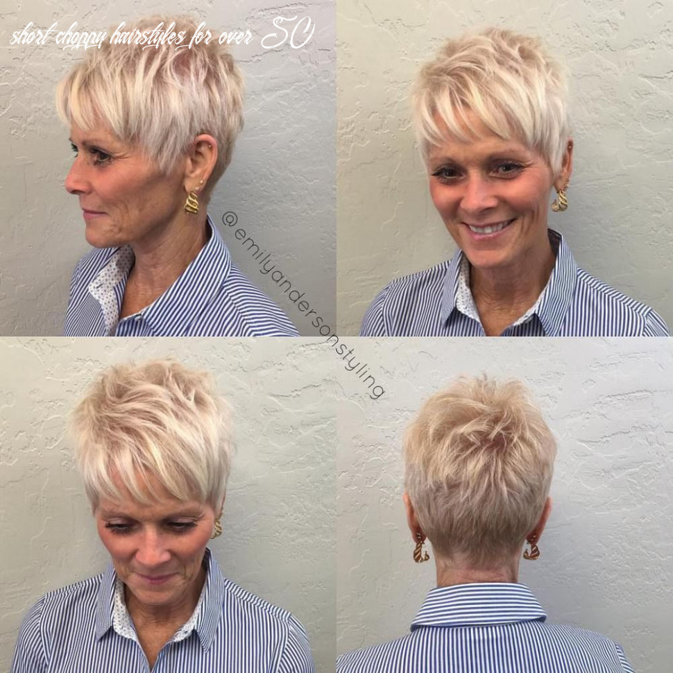 Pin on me short choppy hairstyles for over 50