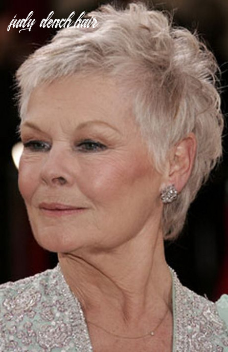 Pin on me stuff judy dench hair