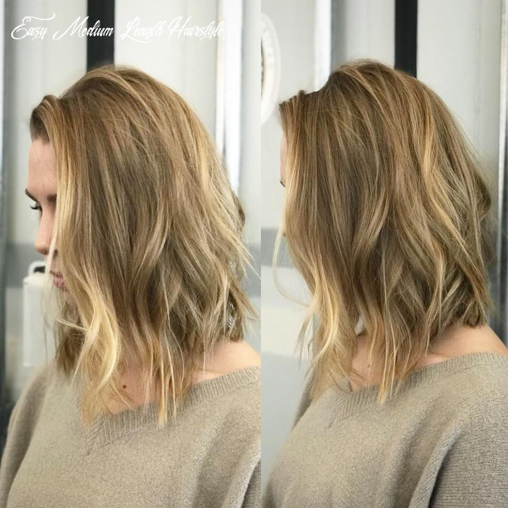 Pin on medium hairstyles easy medium length hairstyle