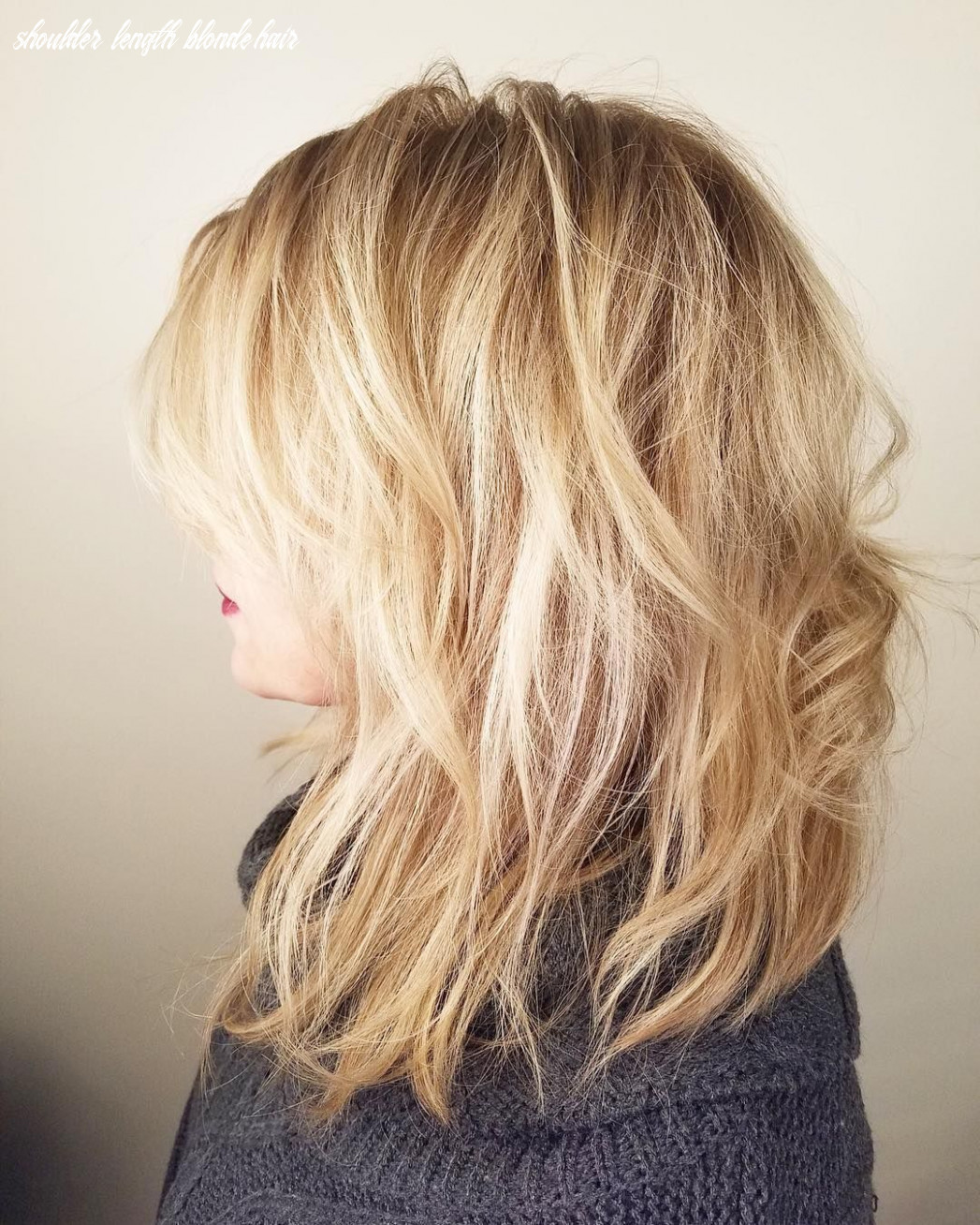 Pin on medium length layered hairstyles shoulder length blonde hair