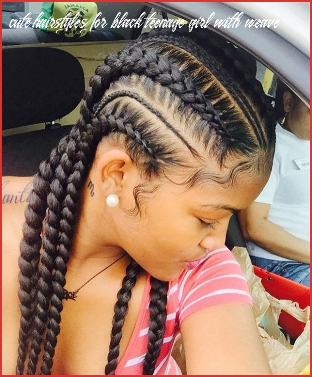 Pin on men & women hairstyle cute hairstyles for black teenage girl with weave