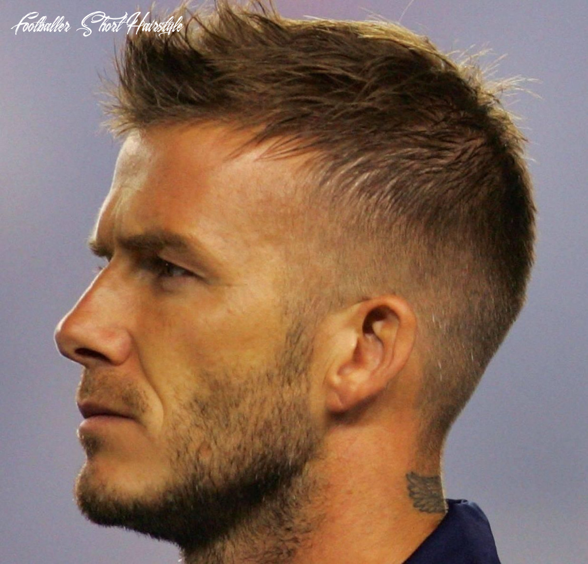Pin on mens hairstyles and haircuts footballer short hairstyle