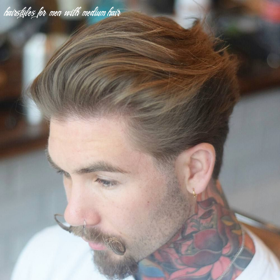 Pin on mens hairstyles hairstyles for men with medium hair