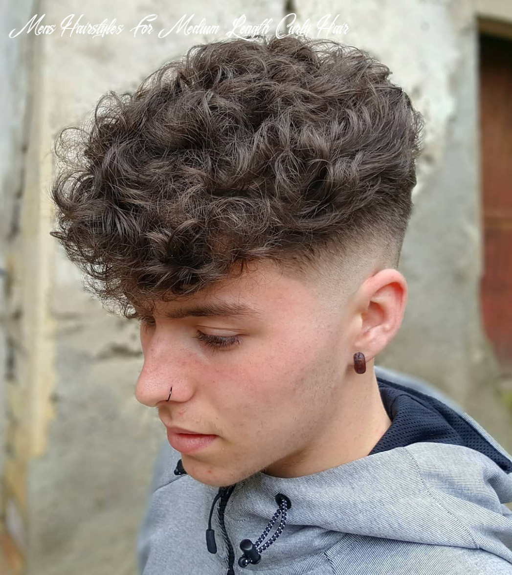 Pin on mens hairstyles mens hairstyles for medium length curly hair
