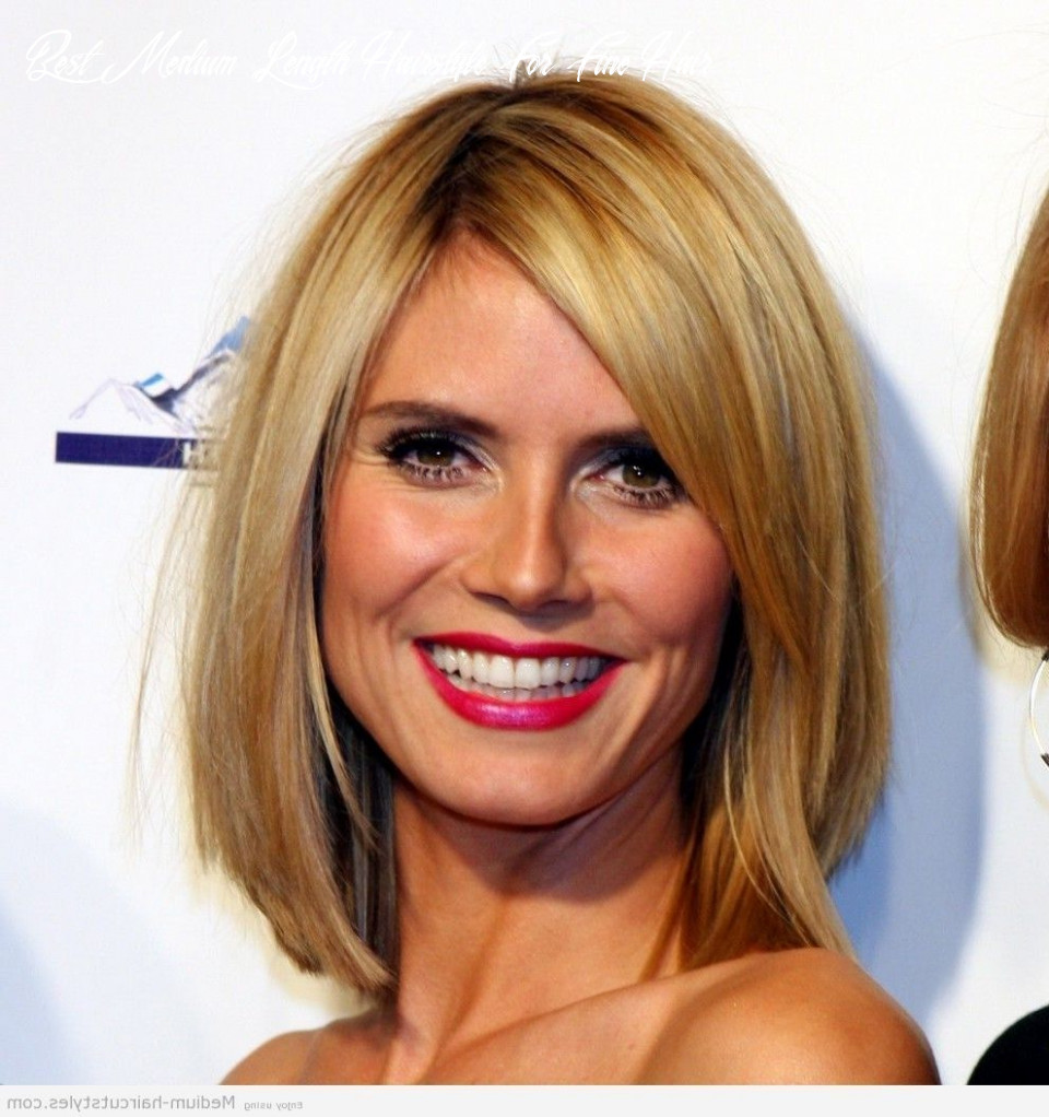 Pin on mid length haircuts best medium length hairstyle for fine hair