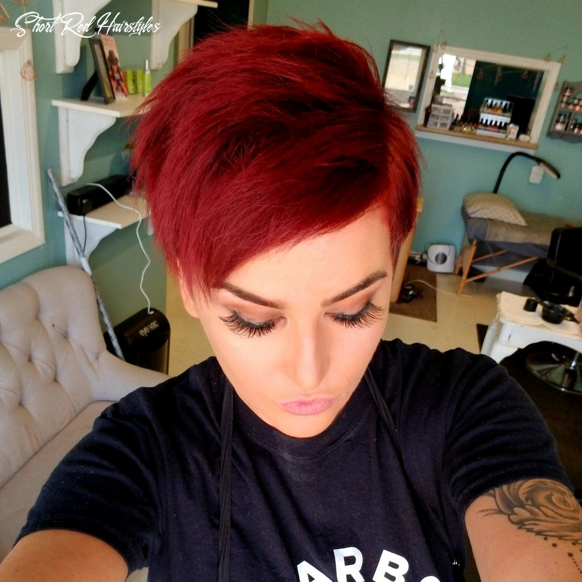 Pin on my colors short red hairstyles
