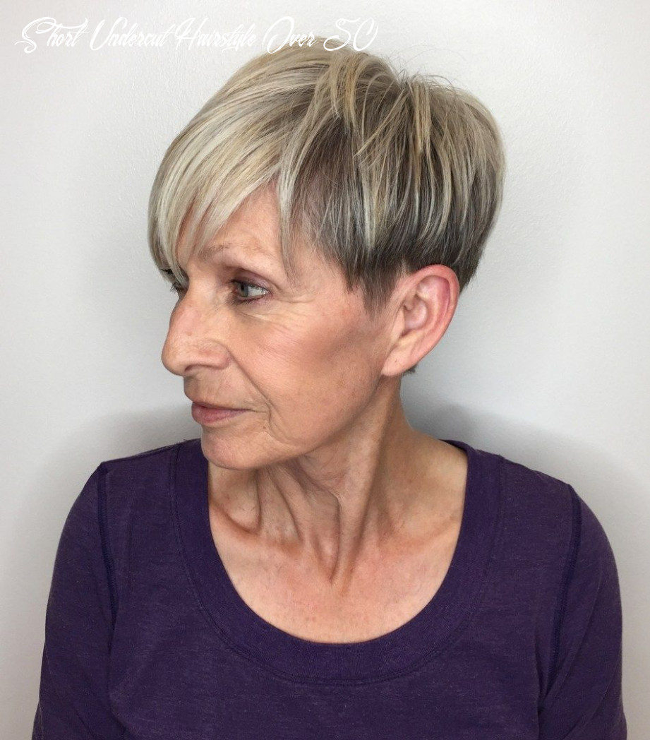 Pin on my hair cuts short undercut hairstyle over 50