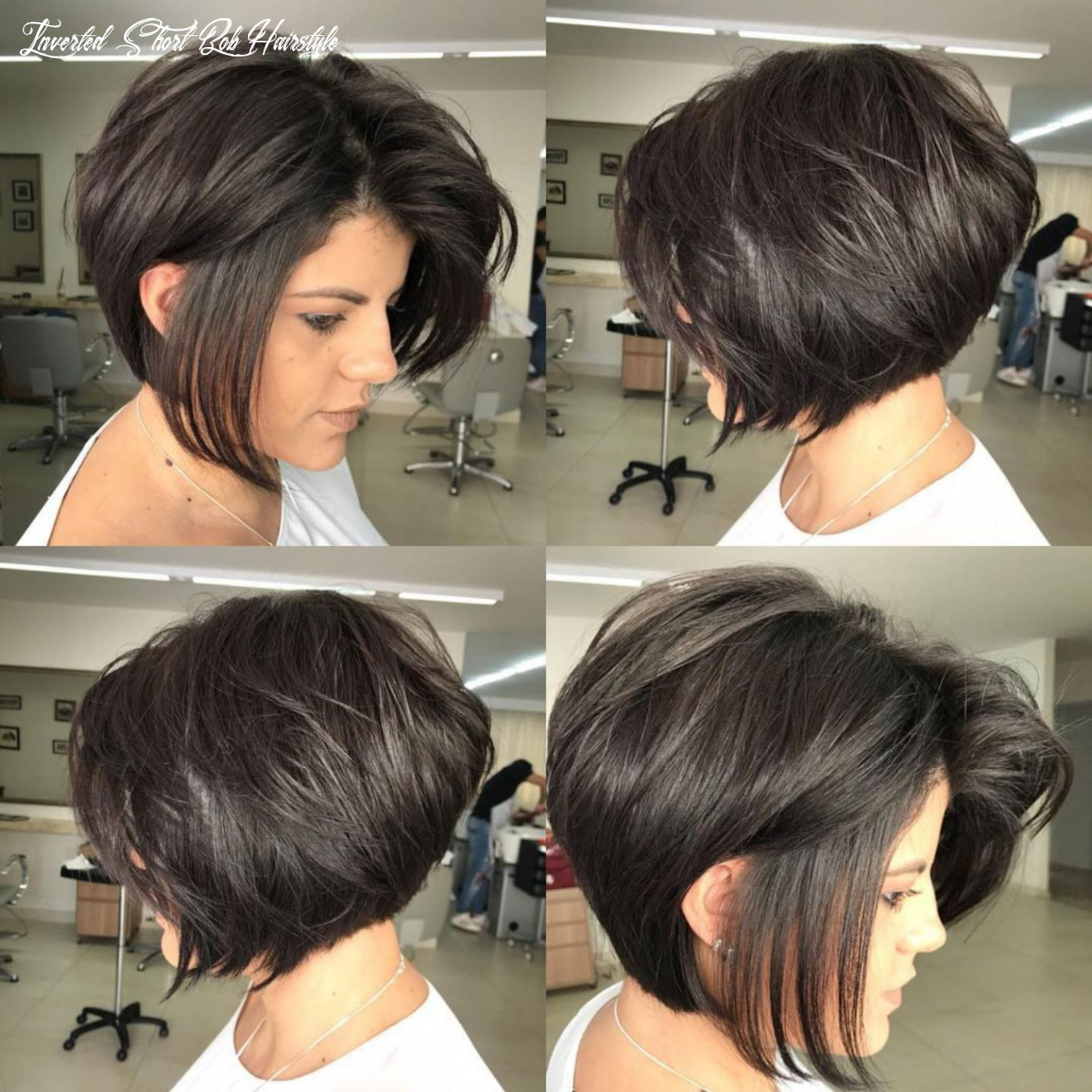 Pin on my style inverted short bob hairstyle