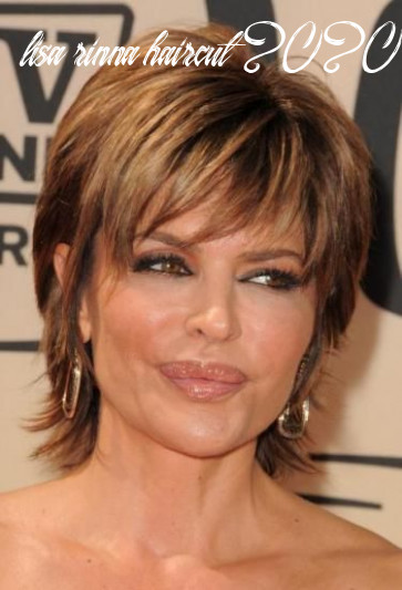 Pin on my style lisa rinna haircut 2020