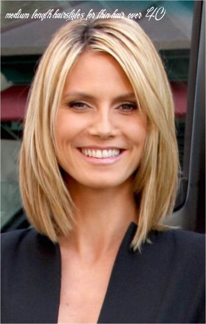 Pin on my style medium length hairstyles for thin hair over 40