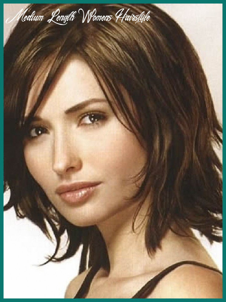 Pin on my style medium length womens hairstyle