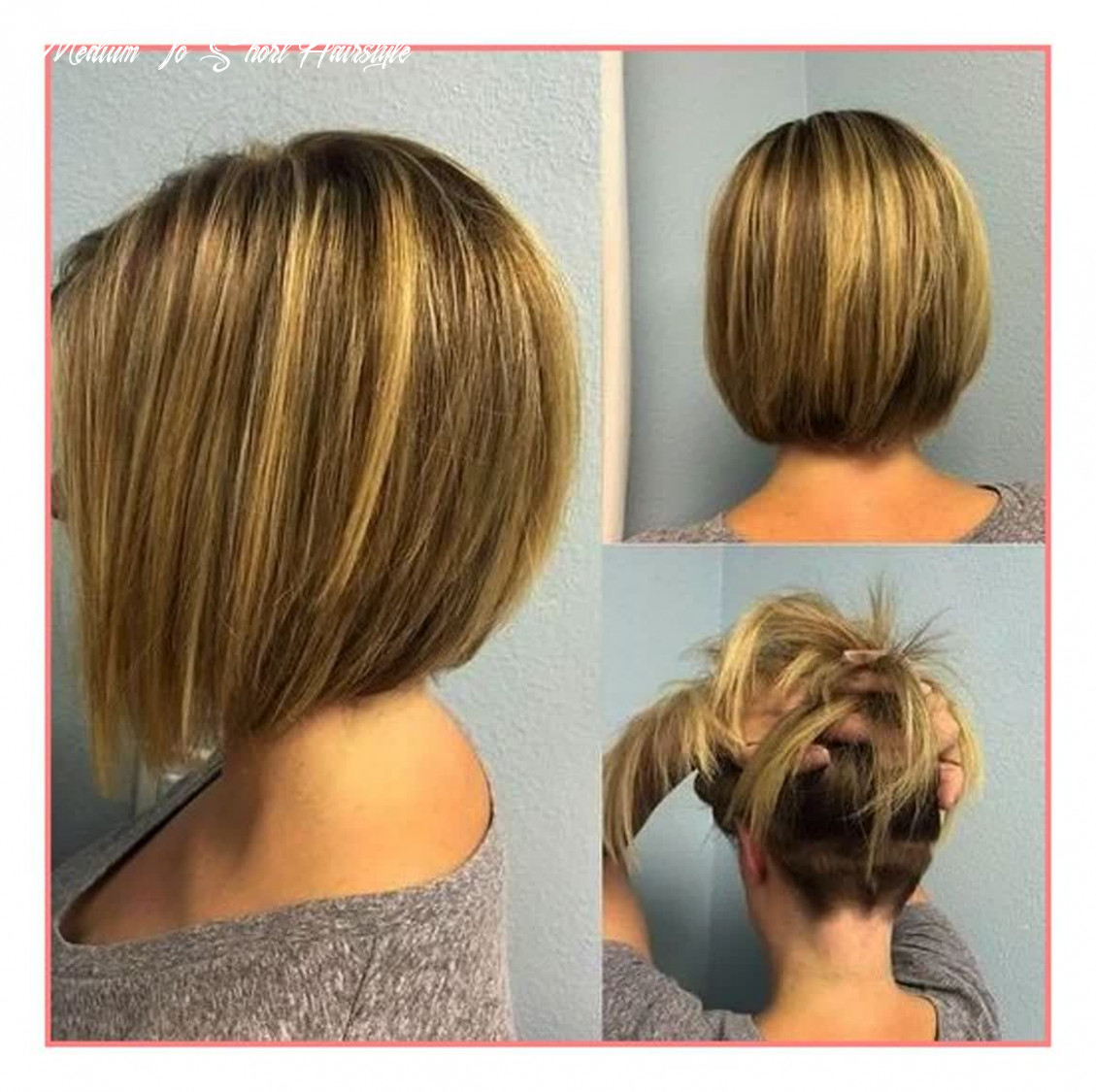 Pin on my style medium to short hairstyle