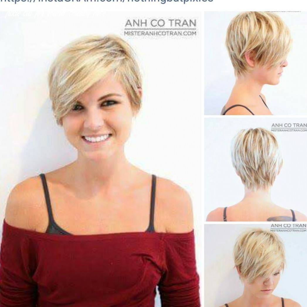 Pin on my style pixie cut for round chubby face