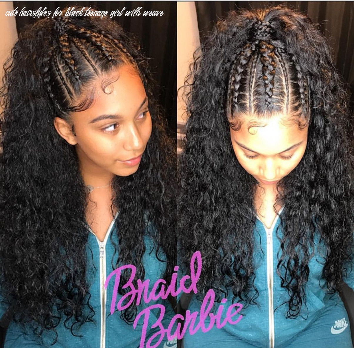 Pin on natural hairstyles cute hairstyles for black teenage girl with weave