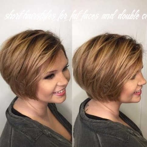 Pin on new hairstyle & haircuts ideas 9 short hairstyles for fat faces and double chins 2020