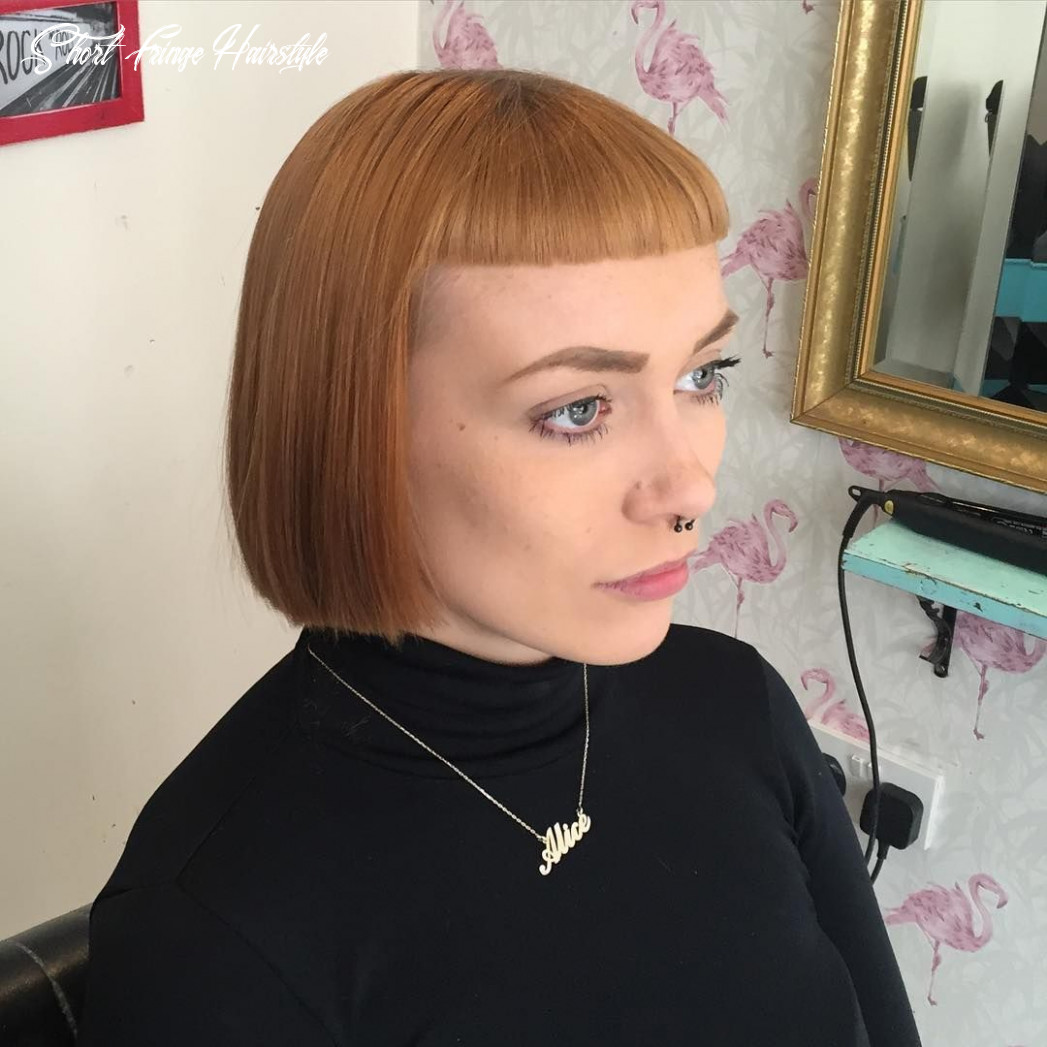 Pin on no bangs short fringe hairstyle