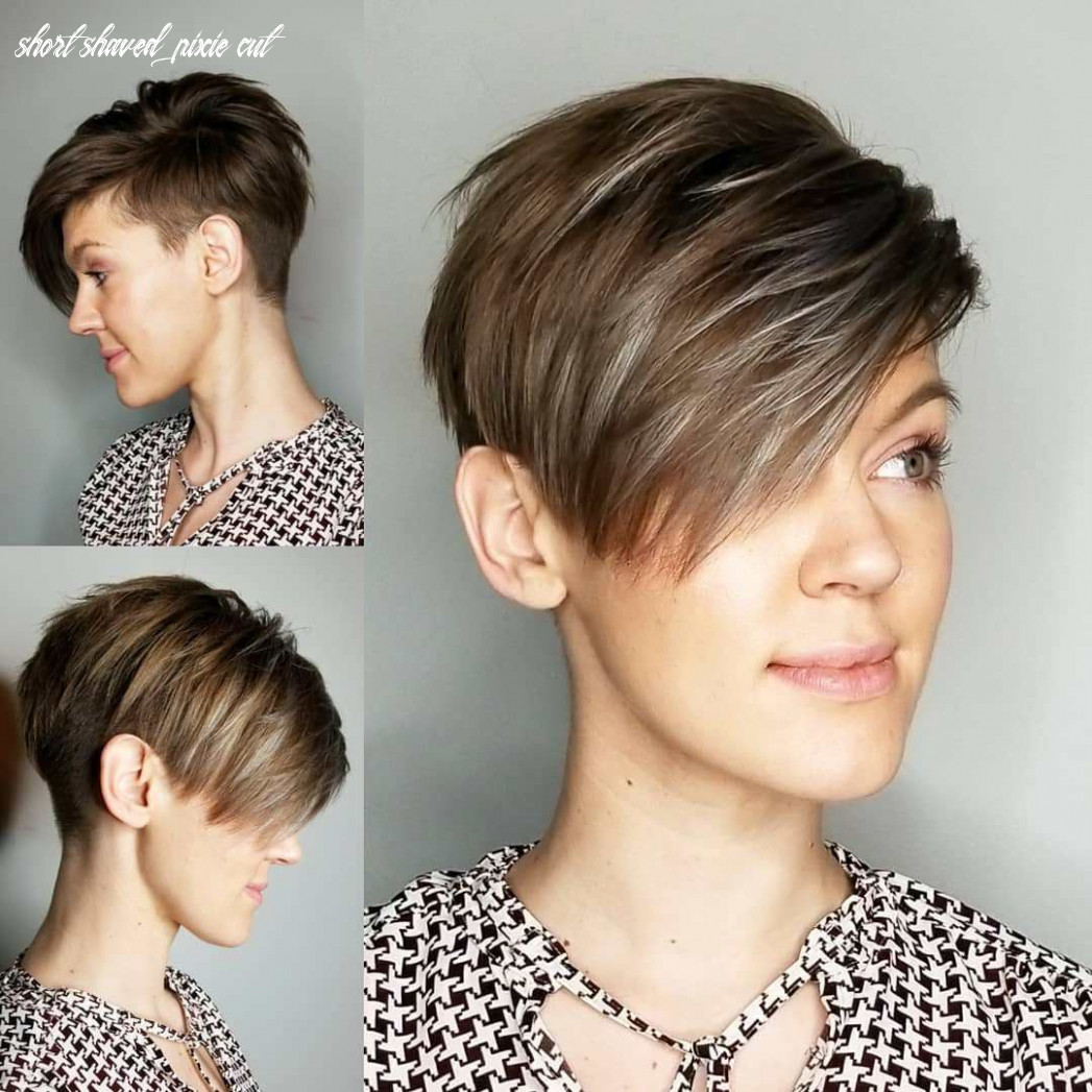 Pin on other that i love short shaved pixie cut
