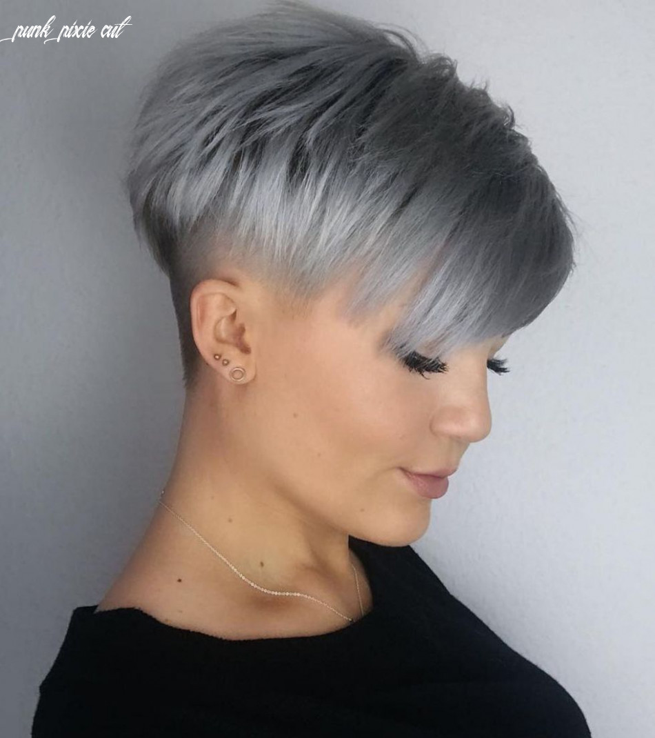 Pin on over 12 short hair cuts punk pixie cut