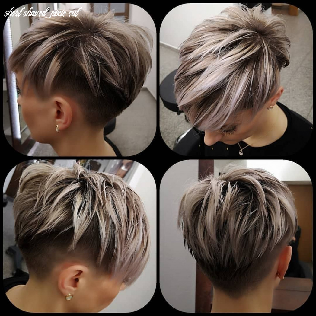 Pin on perfect pixies short shaved pixie cut