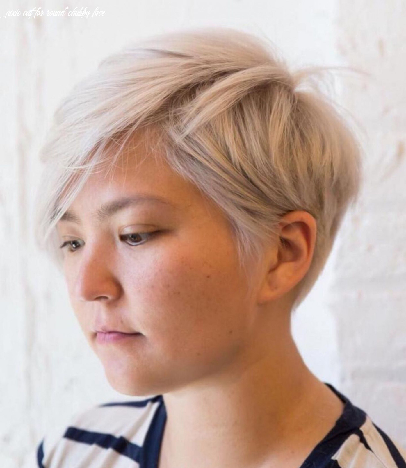 Pin on personal hair and care pixie cut for round chubby face