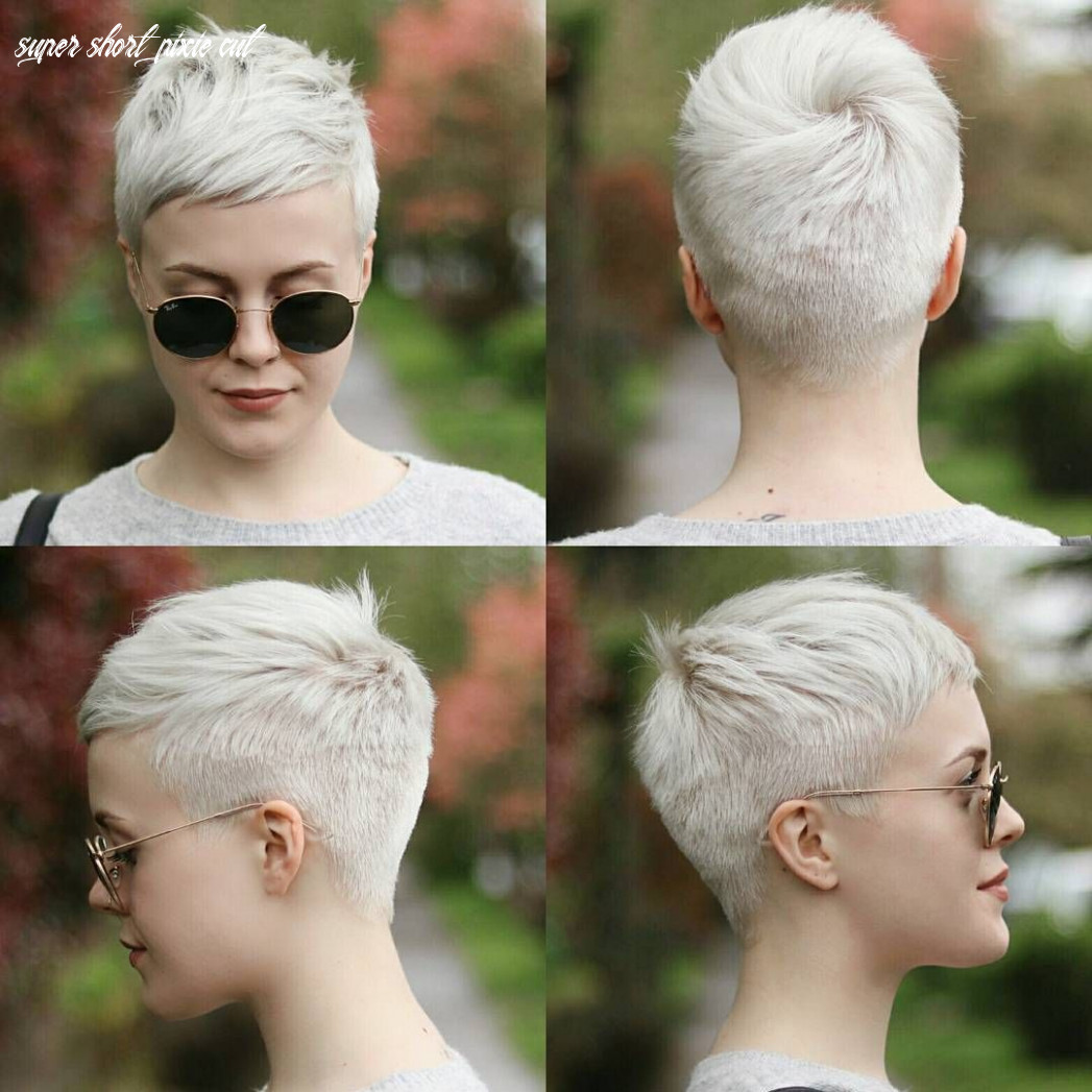 Pin on pixie hairstyles blond super short pixie cut