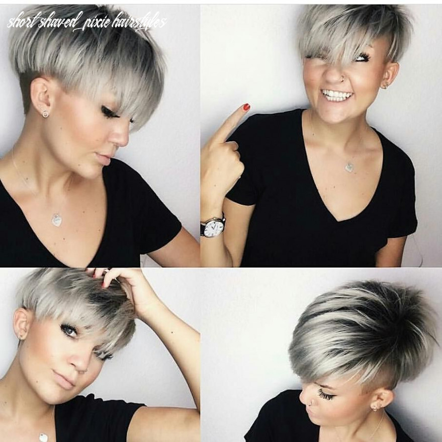 Pin on pixies & short hair cuts short shaved pixie hairstyles
