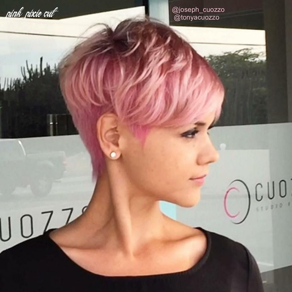 Pin on pixies pink pixie cut