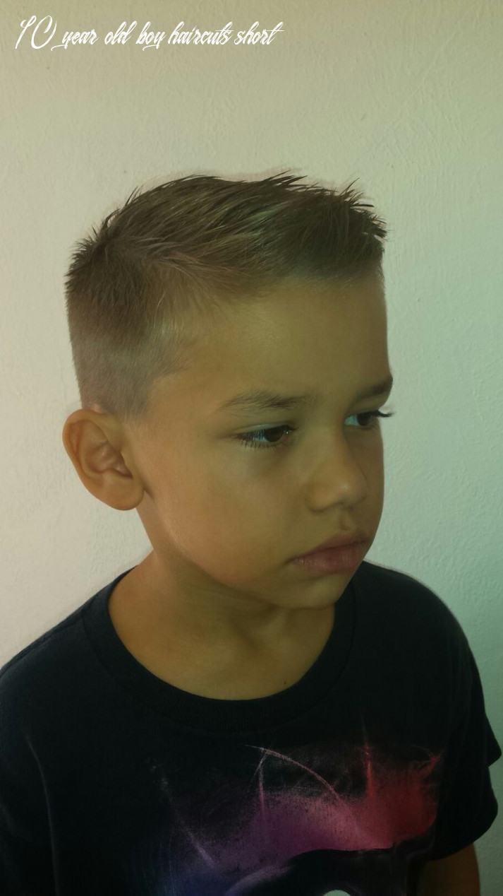 Pin on popular hairstyles ideas 10 year old boy haircuts short