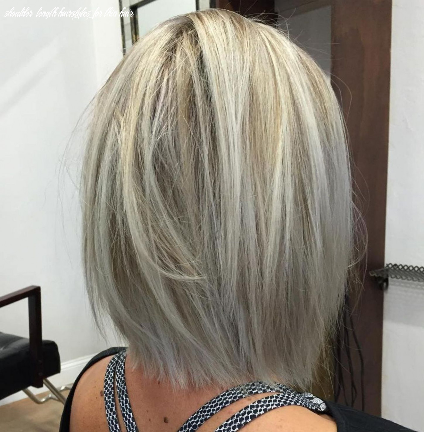 Pin on pretty hair shoulder length hairstyles for thin hair