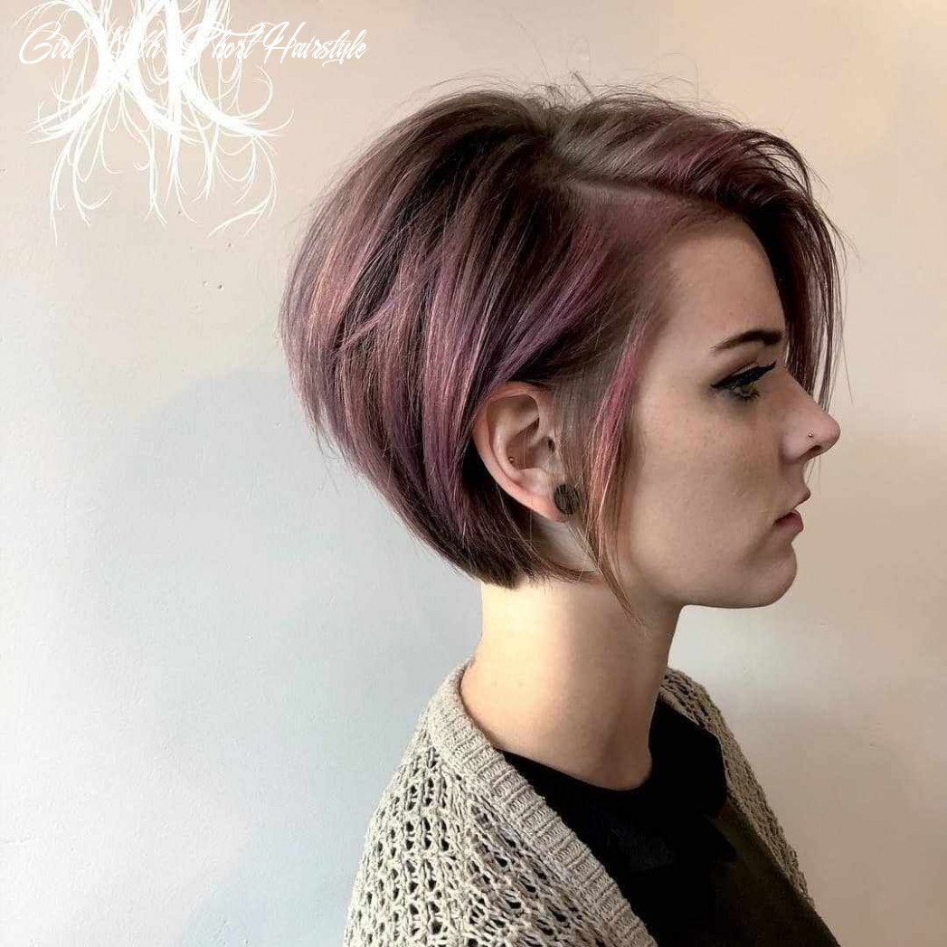 Pin on saç girl with short hairstyle
