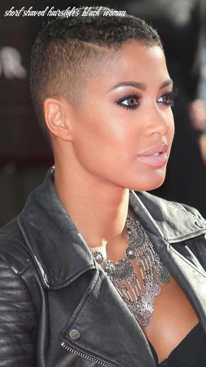 Pin on sexy short hair short shaved hairstyles black woman