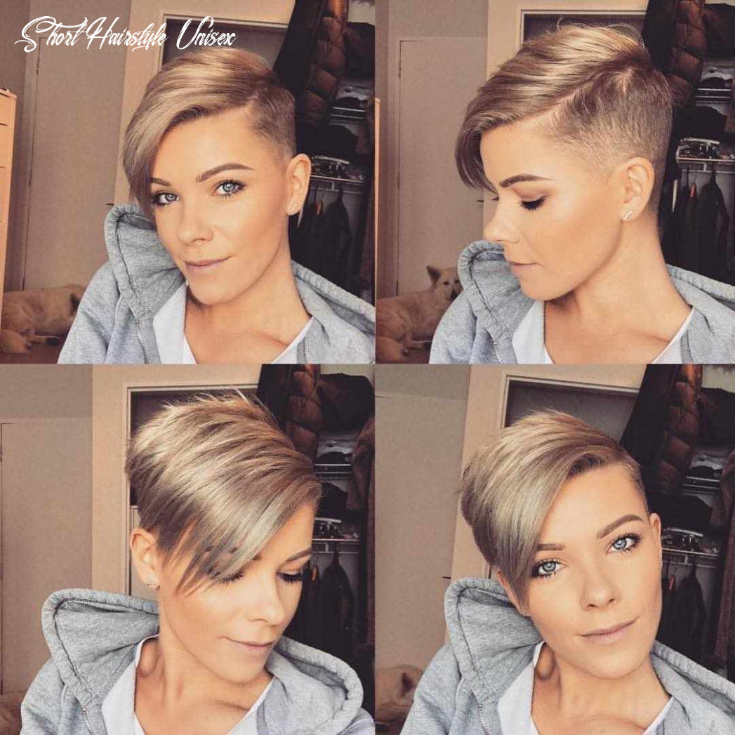 Pin on shaved hair short hairstyle unisex