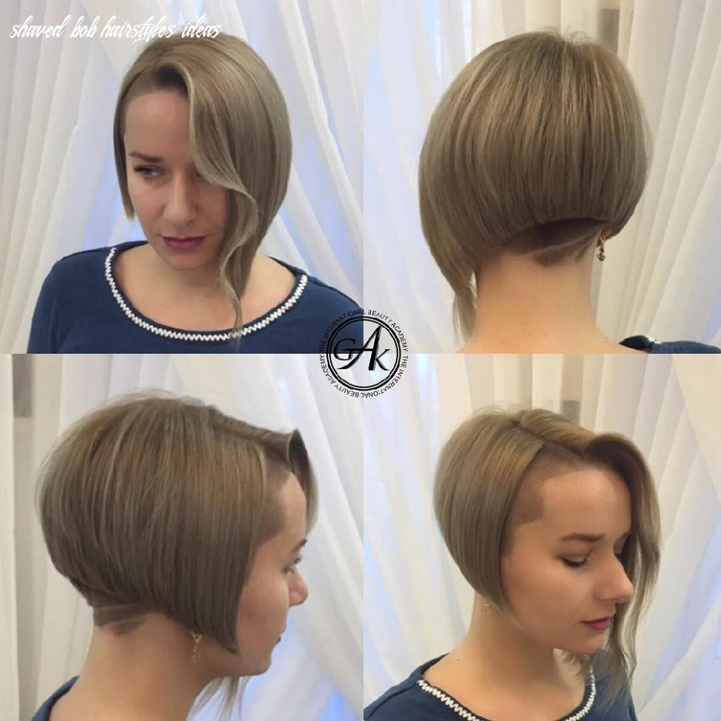 Pin on shaved sides and/or napes shaved bob hairstyles ideas