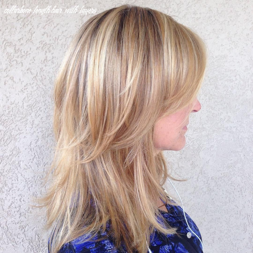 Pin on short hair collarbone length hair with layers