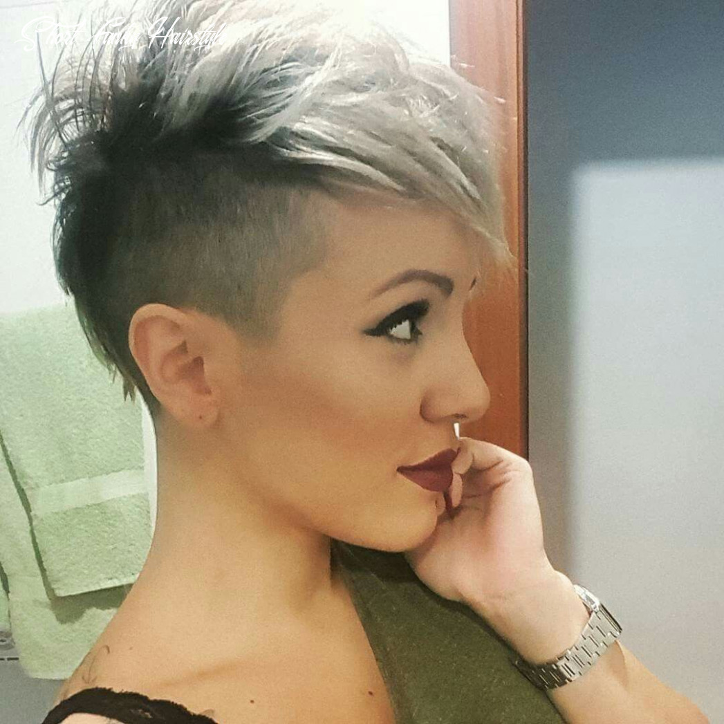 Pin on short hair cuts short funky hairstyle