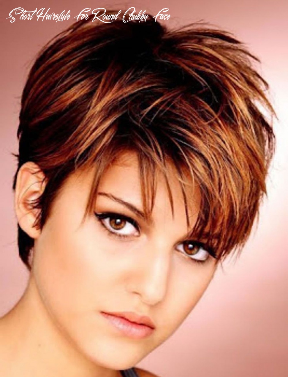 Pin on short hair ideas short hairstyle for round chubby face