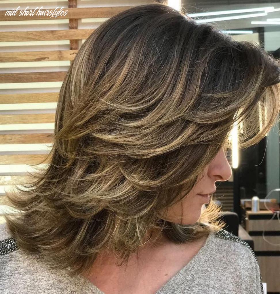 Pin on short hair mid short hairstyles