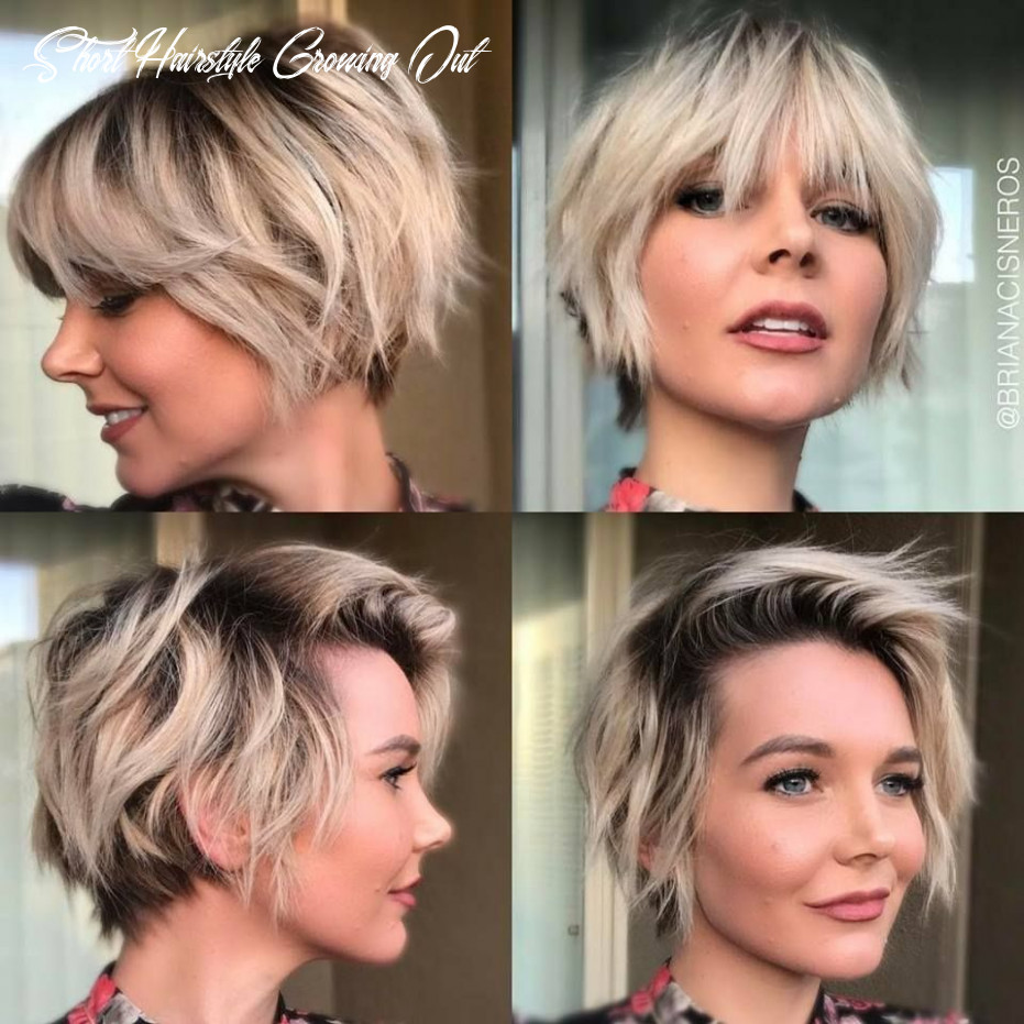 Pin on short hair short hairstyle growing out