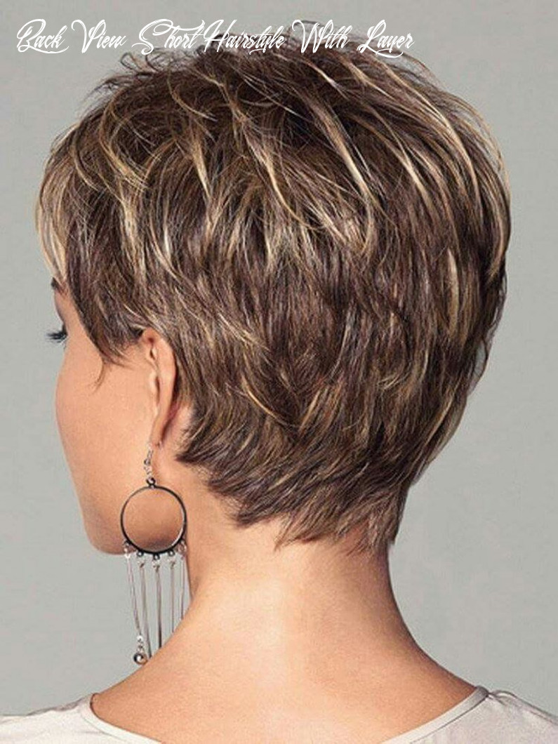 Pin on short hair styles back view short hairstyle with layer
