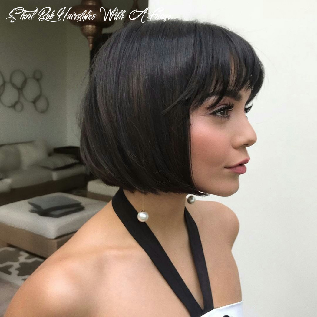 Pin on short hair styles short bob hairstyles with a fringe