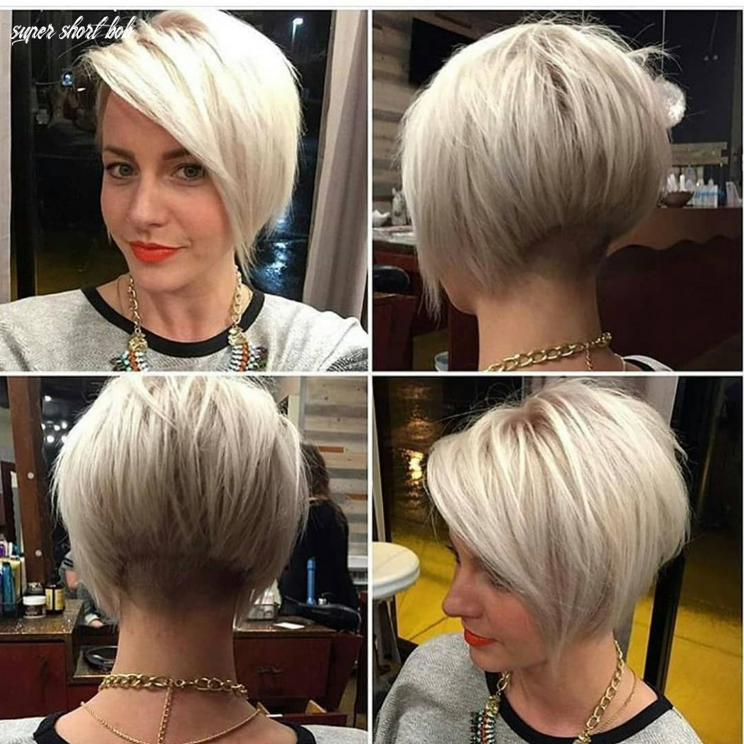 Pin on short hairstyles for fine hair super short bob