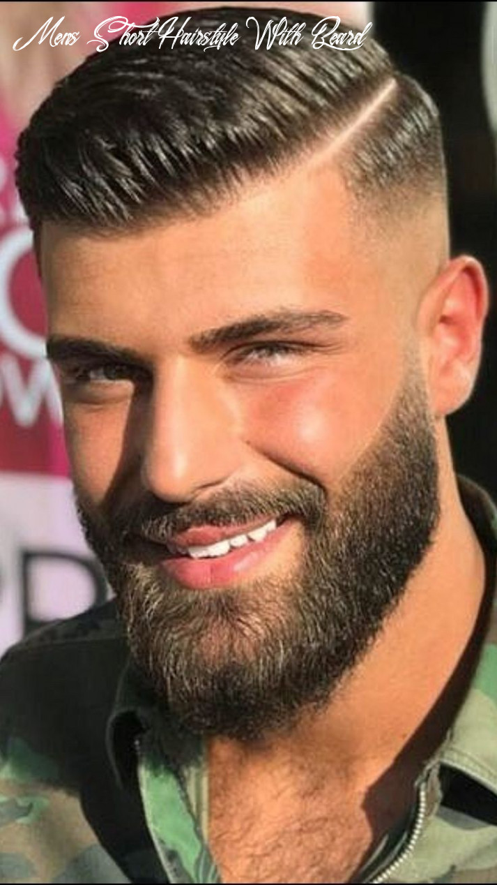 Pin on short hairstyles for men mens short hairstyle with beard
