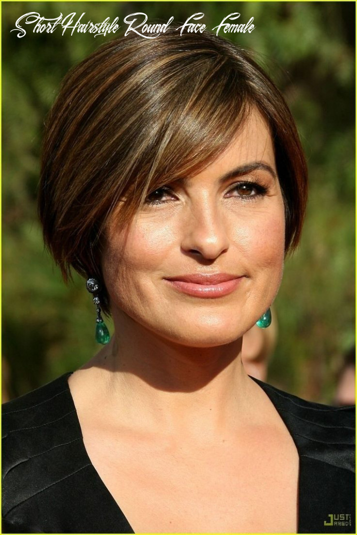 Pin on short hairstyles short hairstyle round face female